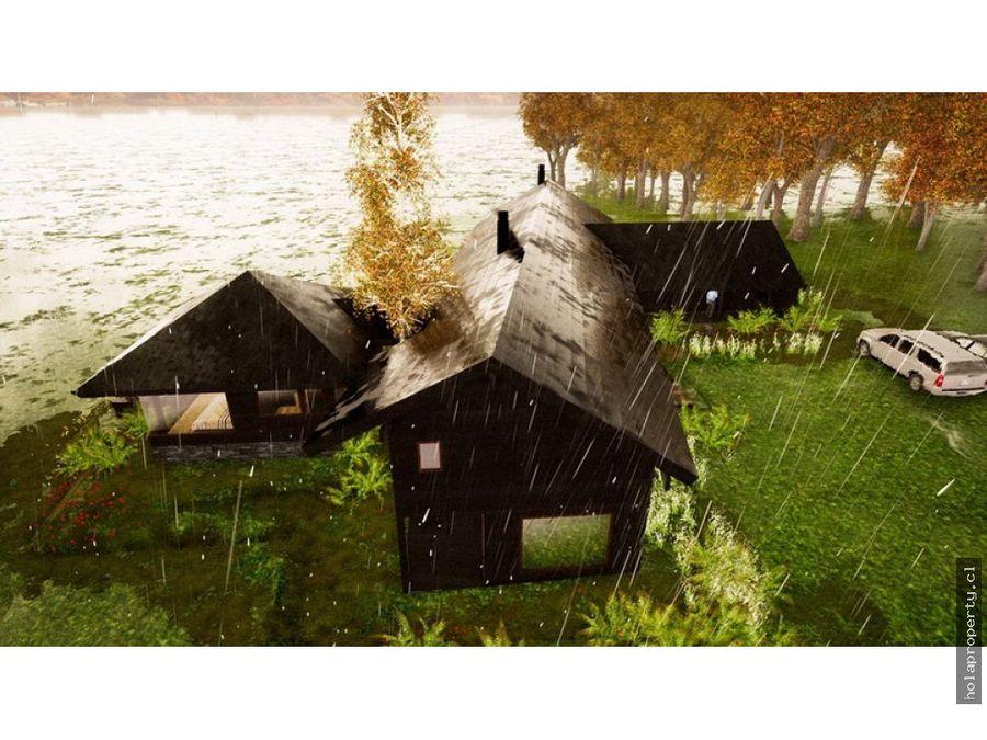 casa en la reserva de pucon