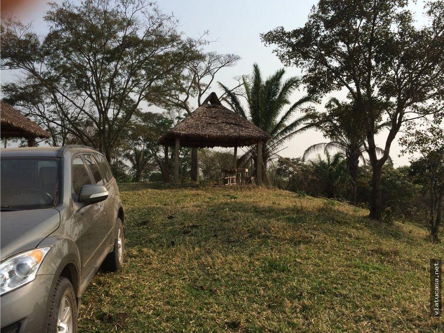 terreno p casa quinta en urubo 7000 m2