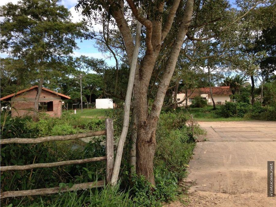 terreno en urbanizacion campestre el tajibo