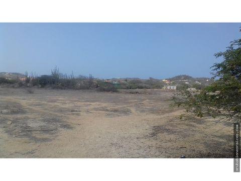 se vende amplio terreno de 6200 m2 santa cruz aruba