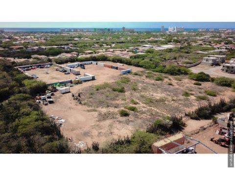 terreno en venta en el sector bubali aruba