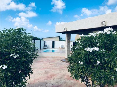 casa en renta para vacaciones en aruba