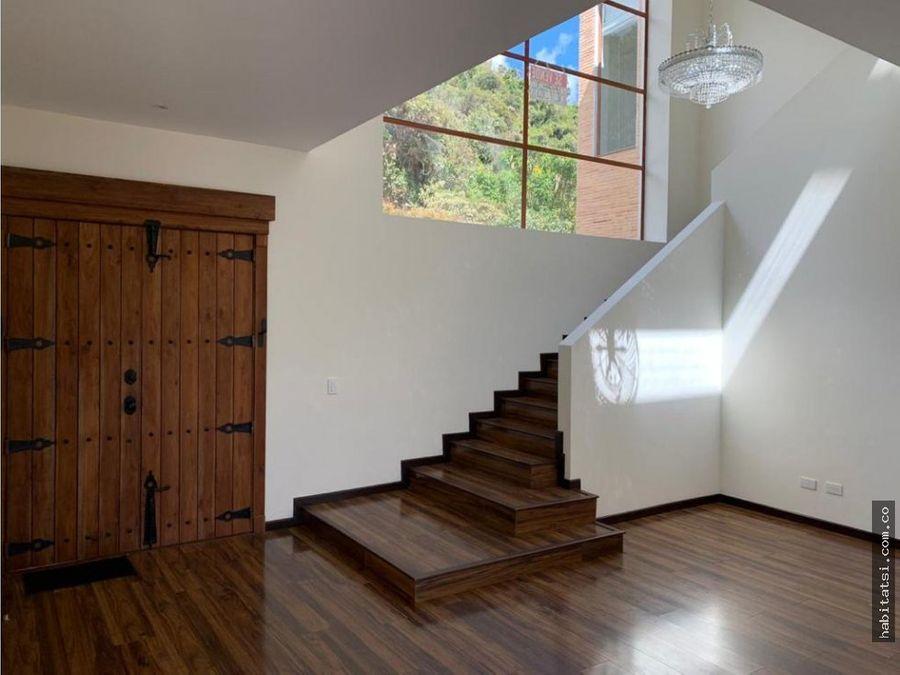 casa estilo moderno europeo en chia
