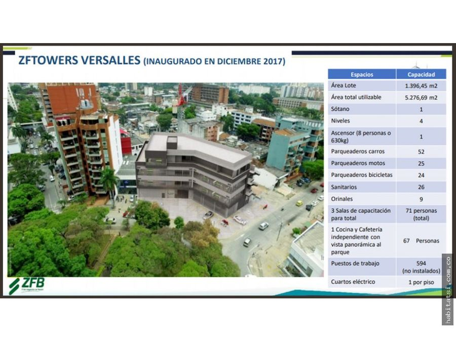 oficinas edificio towers versalles