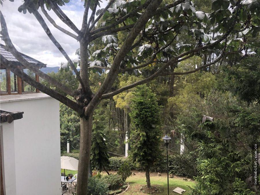 casa en venta en casa blanca cerros de suba bogota
