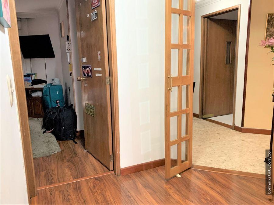 apartamento en venta barrio rincon del chico bogota