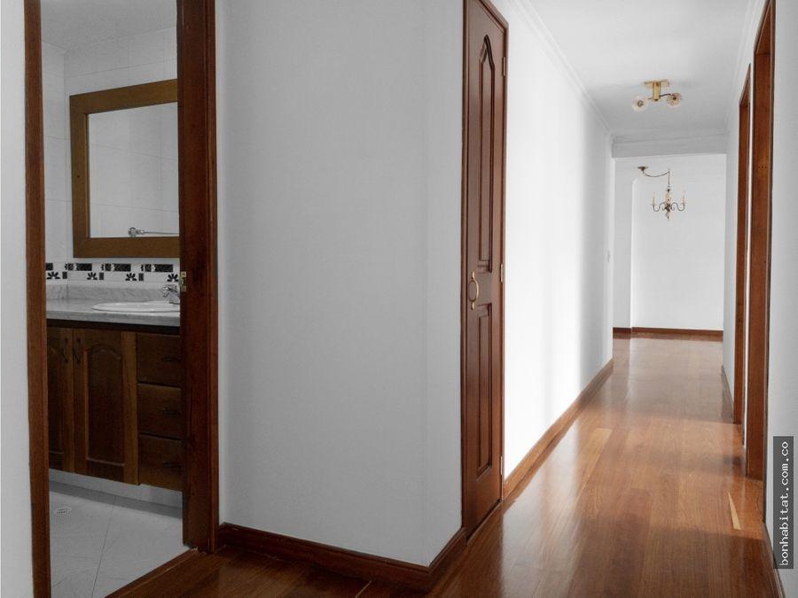 apartamento en venta santa barbara bogota