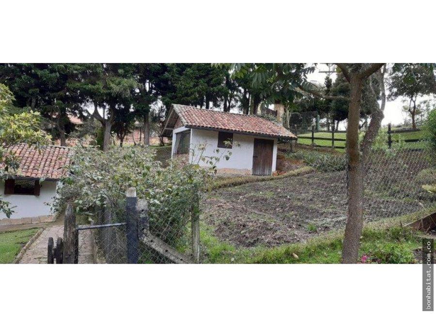 casa lote en venta en yerbabuena chia