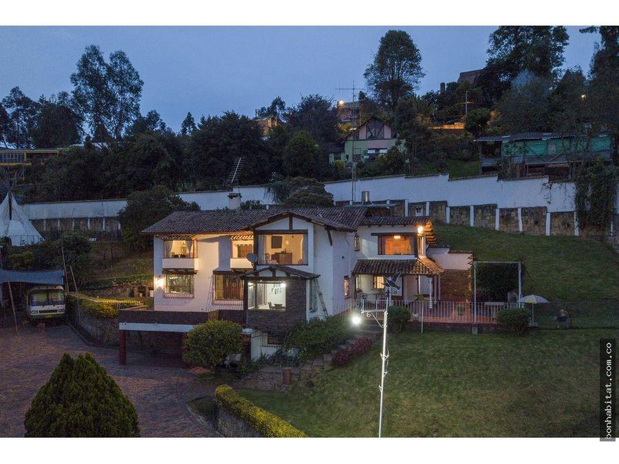 casa lote en venta en suba bogota