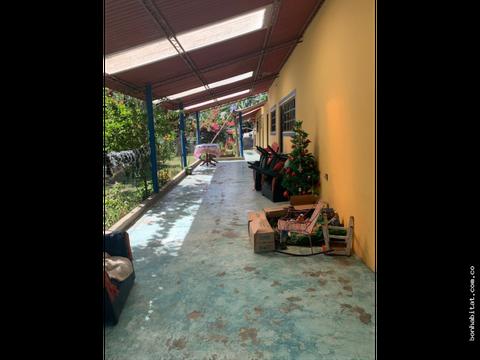 casa campestre en venta en guayabal de siquima