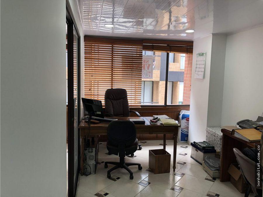 oficina en venta santa paula bogota