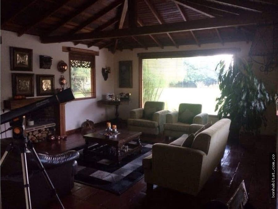 casa campestre en venta chia