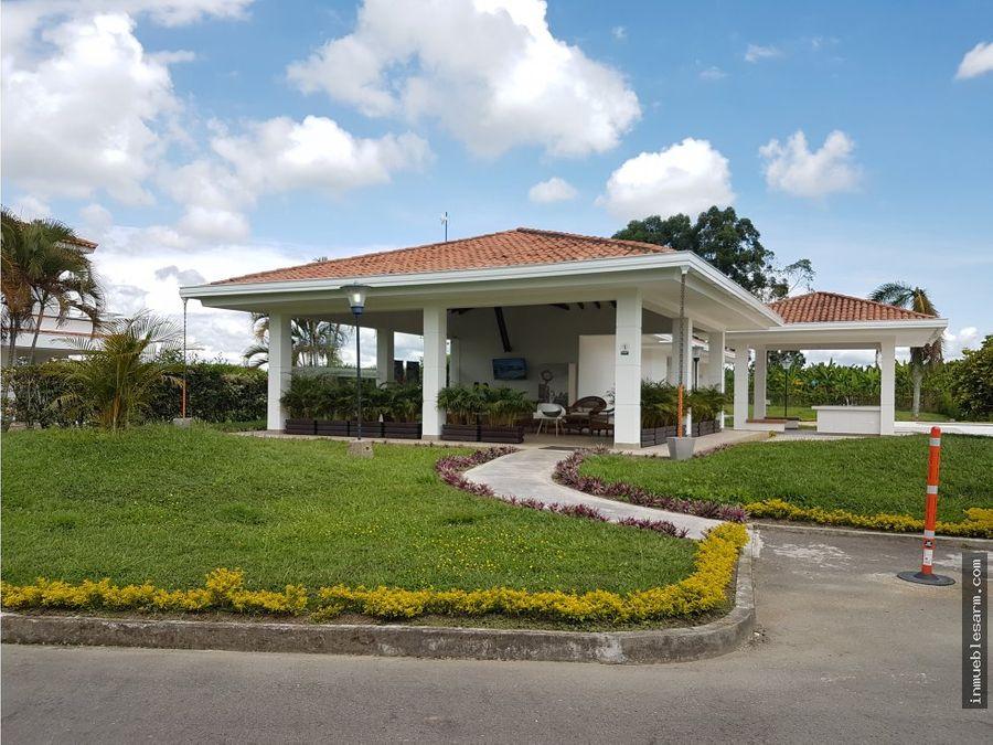 venta hermosa casa campestre cerca parque del cafe