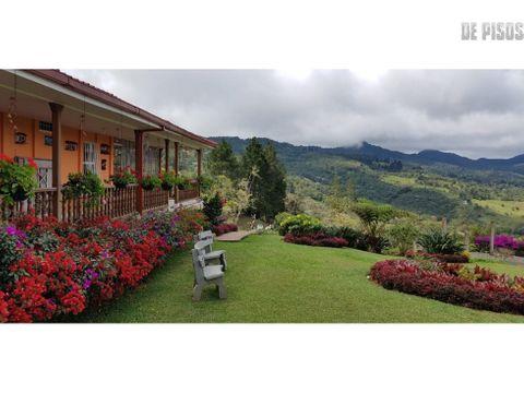hermosa casa campestre en el km 17 en san pedro reservado