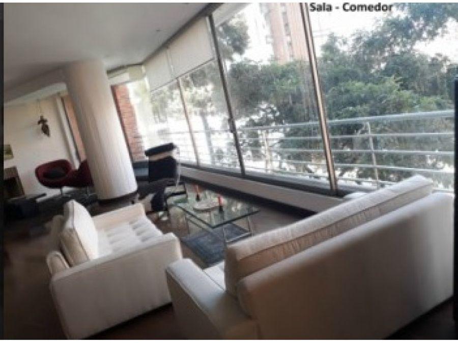 apartamento rosales parque 77 bogota