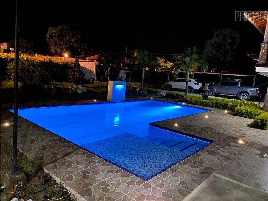 casa campestre en rozo con piscina