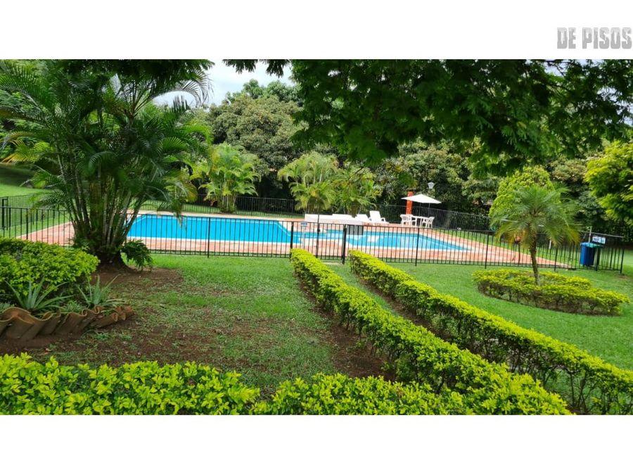 casa ciudad jardin en condominio con piscina privada