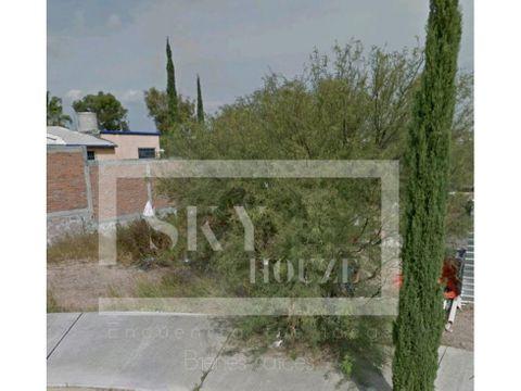 terreno residencial en venta al norte de la ciudad de aguascalientes