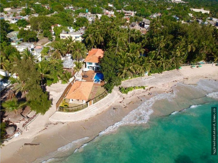 magnifica villa frente a la playa en guayacanes