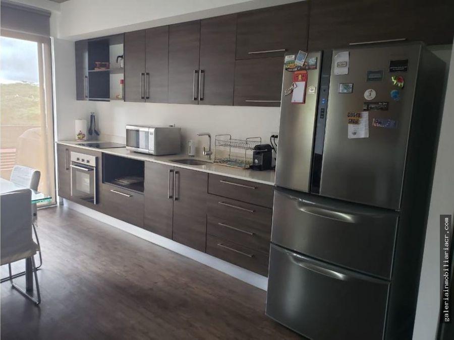 moderno apartamento completamente amueblado