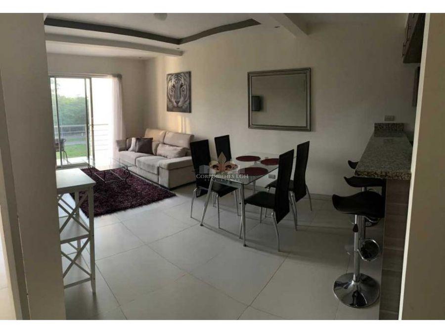 moderno apartamento amueblado en belen real cariari