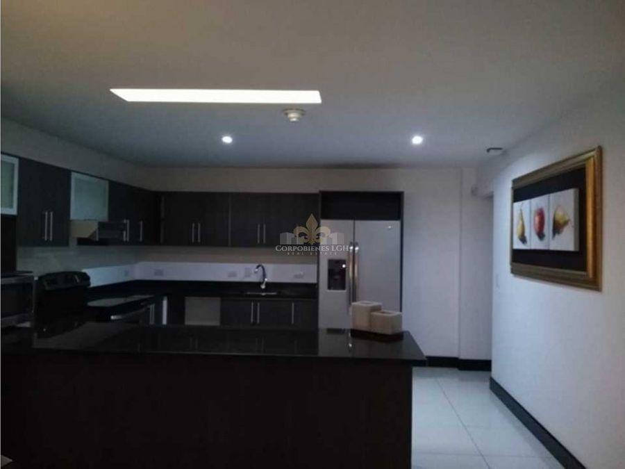 moderno y exclusivo apartamento amueblado pozos de santa ana