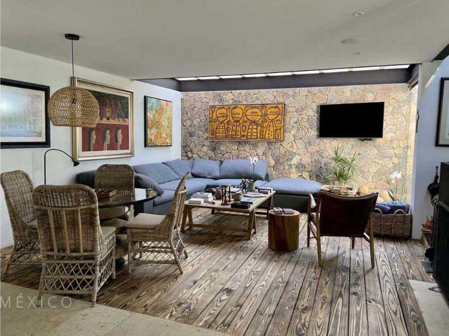 moderna casa en avandaro centro valle de bravo
