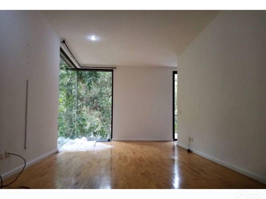 moderna casa en renta pinos de muxbal con vista al bosque c1
