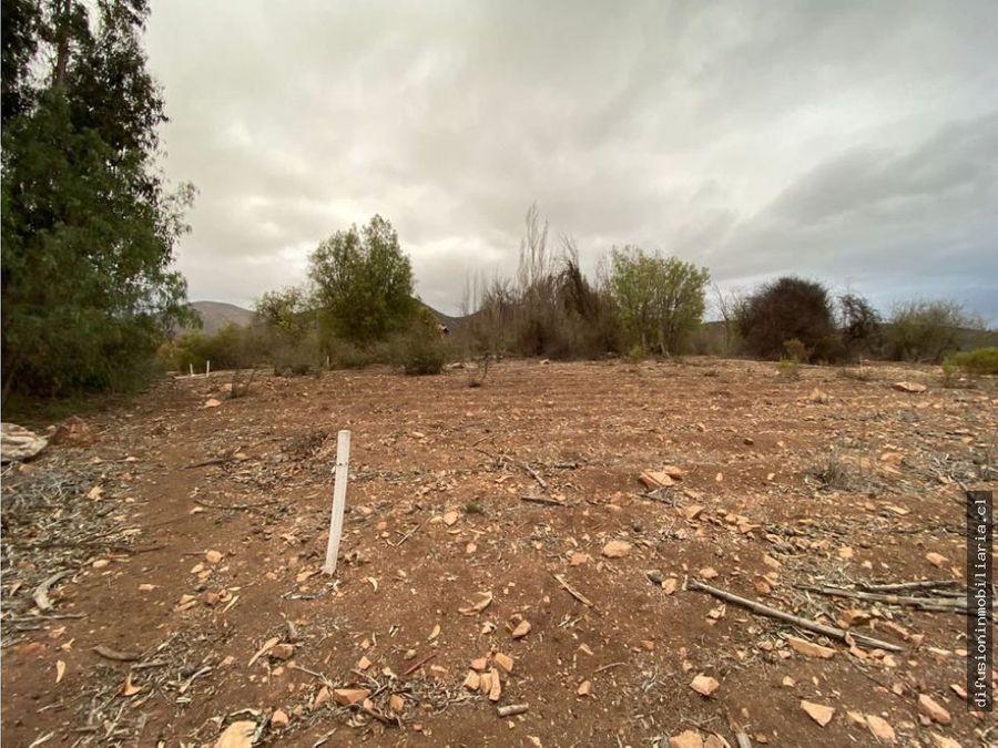 nuevo proyecto parcelas carcamo altos de illapel