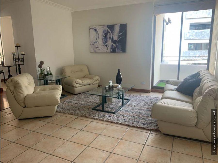 oferta apartamento de lujo con o sin muebles en escazu