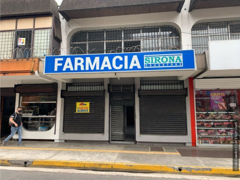 oferta se alquila local en la avenida central en san jose centro