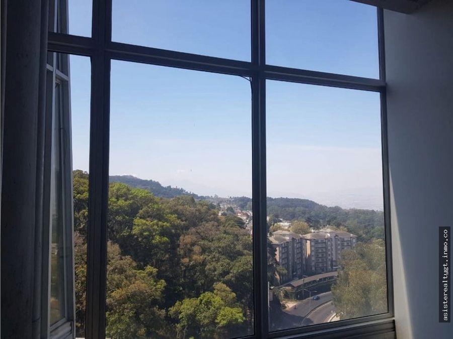 oficina 104 mts en renta torre tigo
