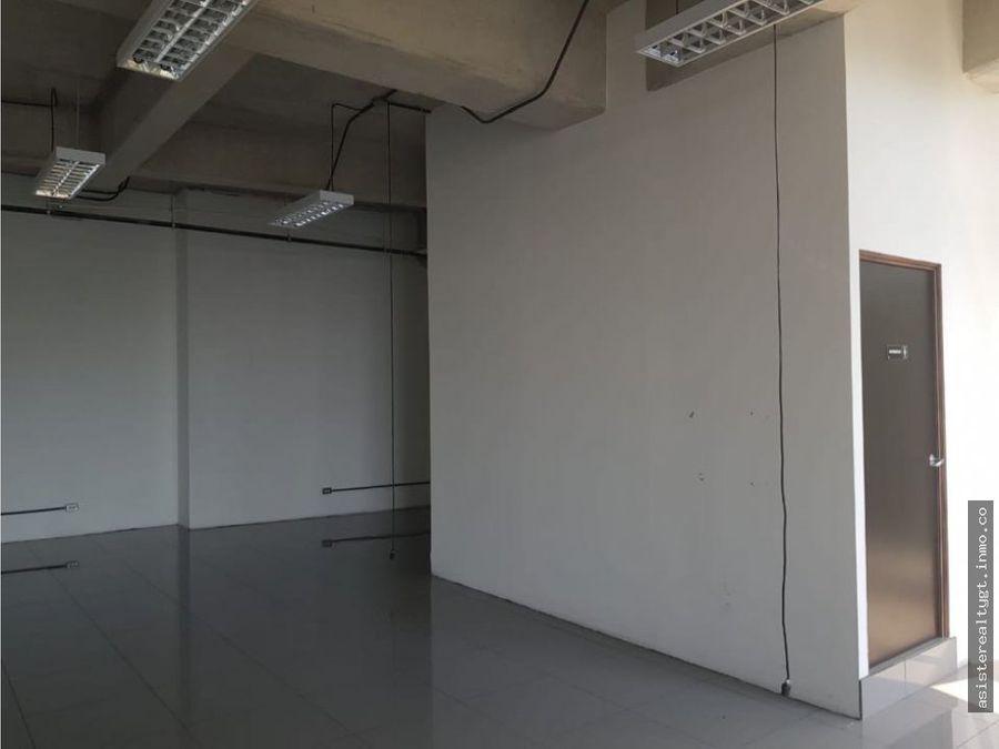 oficina 133 mts en renta torre tigo