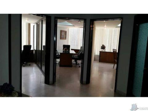 oficina amoblada en torre advanced 099 area bancaria 88 m2