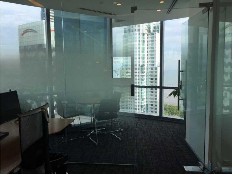 alquiler yo venta oficina costa del este 292 m2 torre financial park