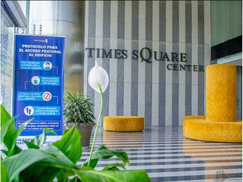 oficina en alquiler en costa del este time square 50 m2
