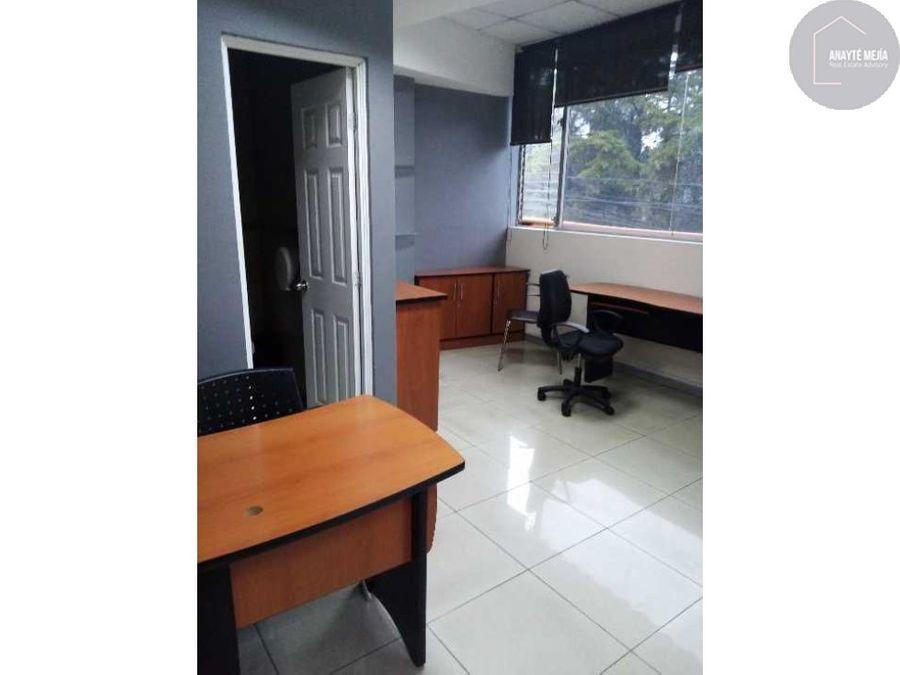 oficina en alquiler sobre anillo periferico zona 11