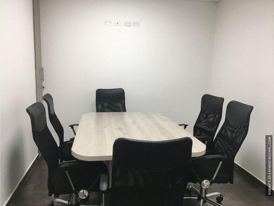 oficina en arriendo amoblada barranquilla