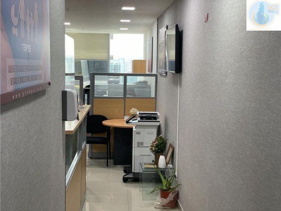 oficina en obarrio amoblada