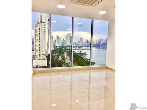oficina en la av balboa 50 m2 torre boc vista al mar