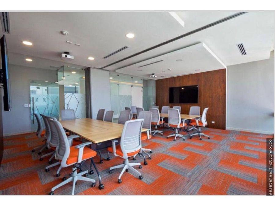 oficina en renta 45mts en zona 15
