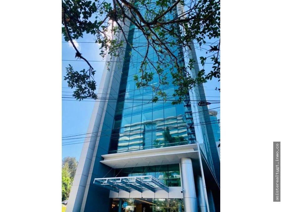 oficina en renta 889 mts en zona 15