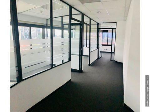 oficina 69 mts en renta tabicada en zona 10