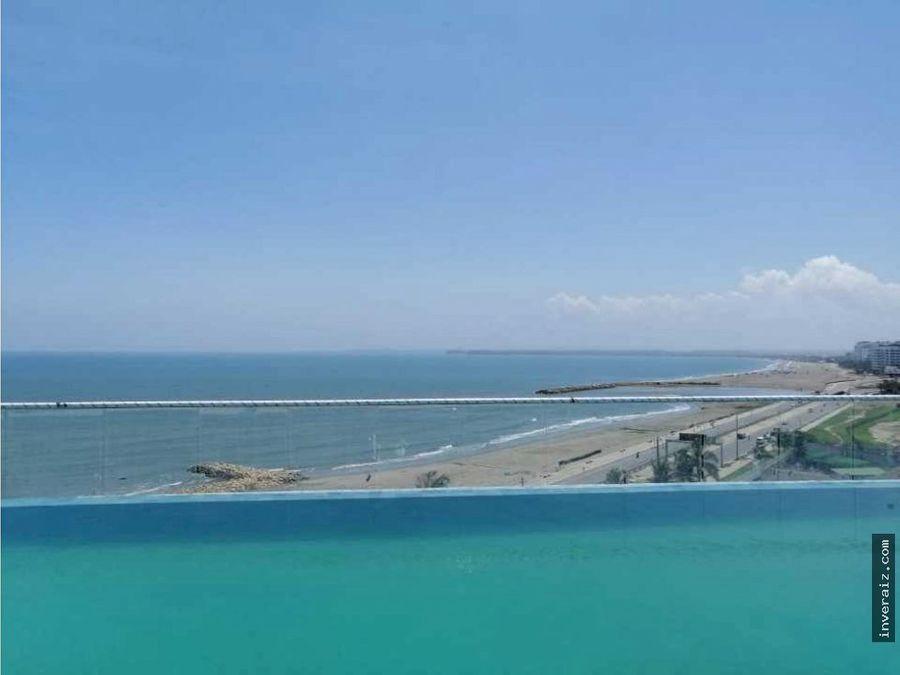 oportunidad apto cartagena vista mar 94 m2