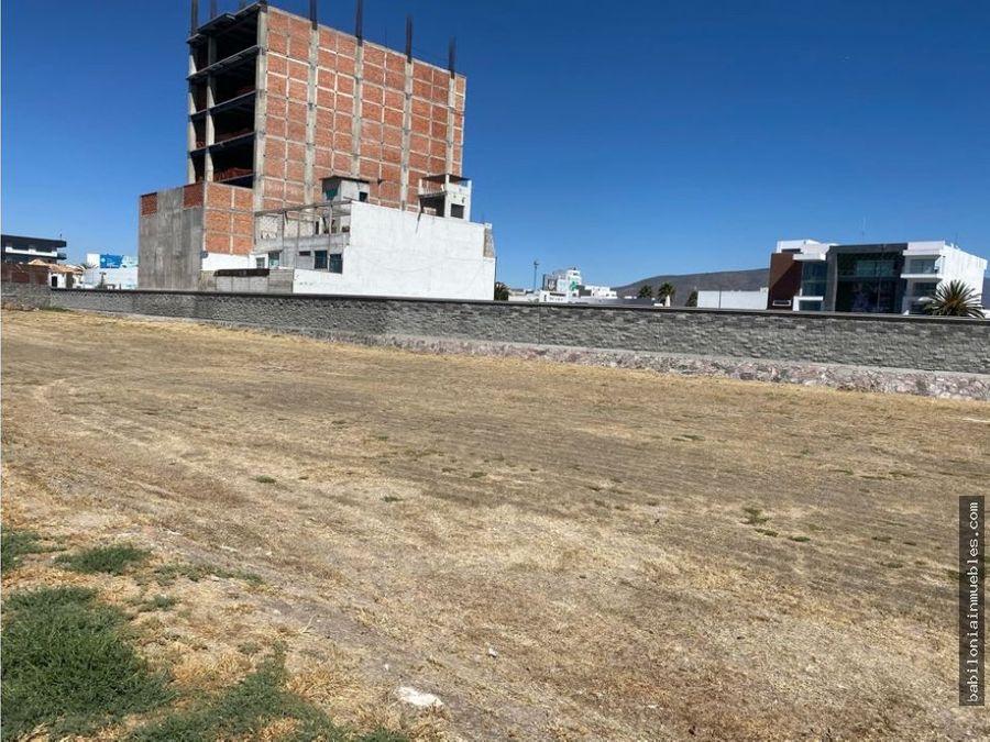 oportunidad precio venta de lote residencial refugio zona plateada