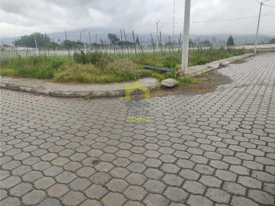 atuntaqui terrenos en venta en urbanizacion san jose