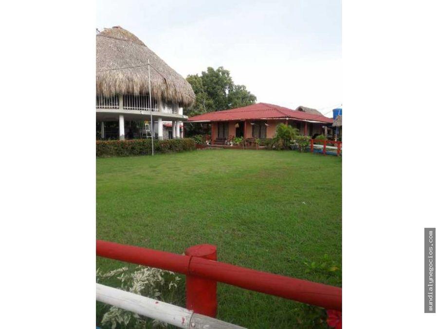 a la venta casa finca campestre de 10400 mts en turbana bolivar 019
