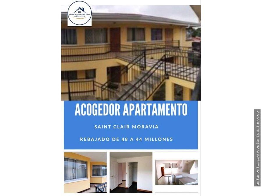 acogedor apartamento en moravia