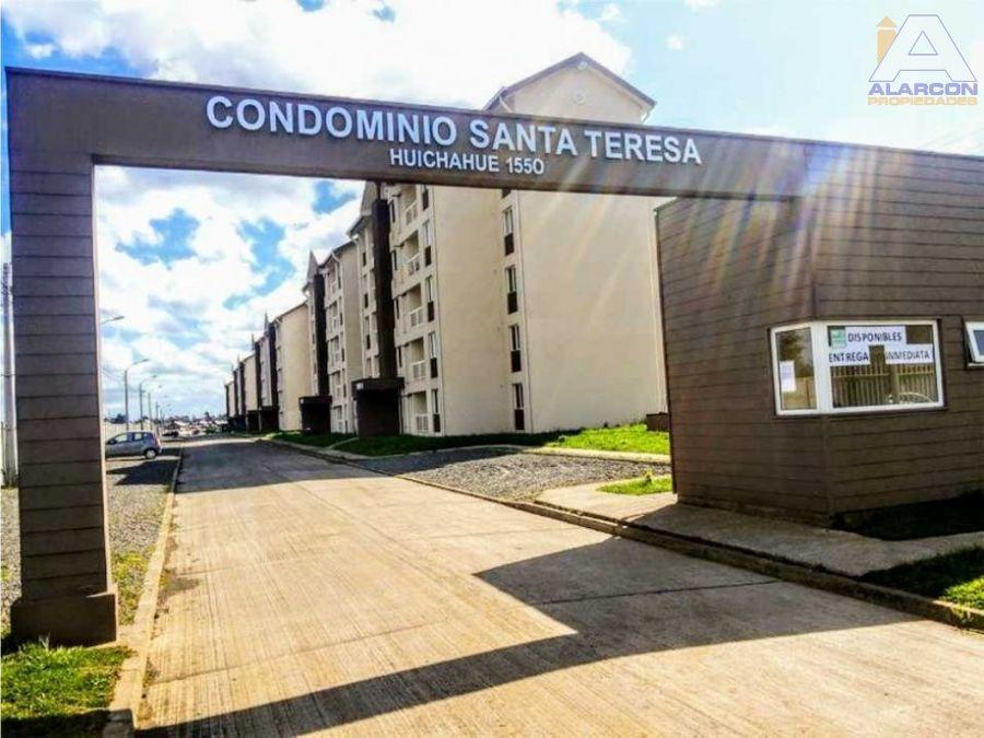 departamento condominio santa teresa de padre las casas