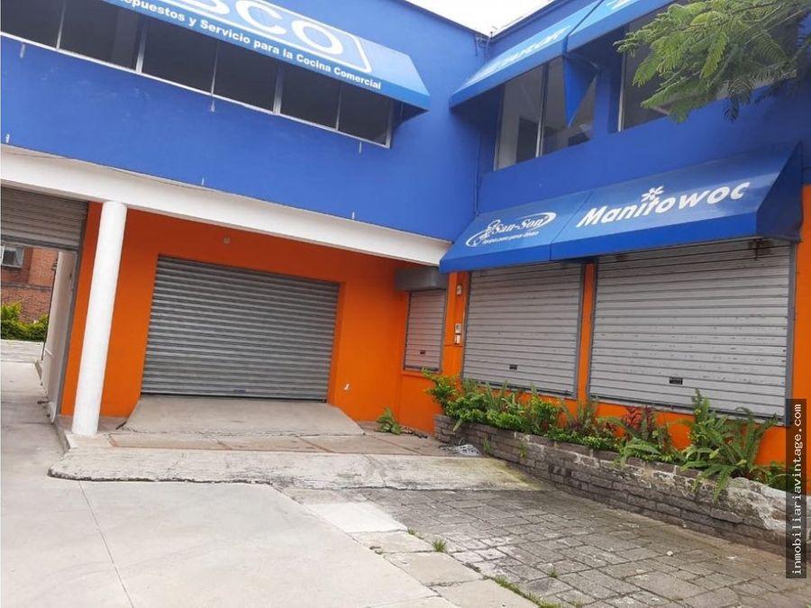 alquilo casa comercial en zona 10